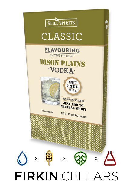 Still Spirits Classic Bison Plains Vodka Home Brew Flavouring Essence