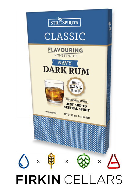Still Spirits Classic Navy Dark Rum Home Brew Flavouring Essence