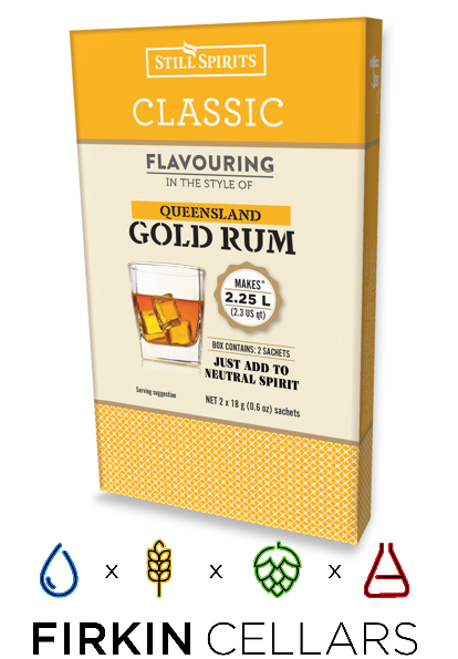 Still Spirits Classic Queensland Gold Rum Home Brew Flavouring Essence