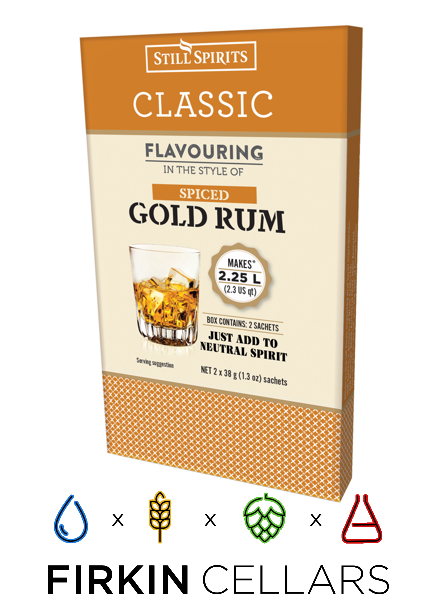 Still Spirits Classic Spiced Gold Rum Home Brew Flavouring Essence