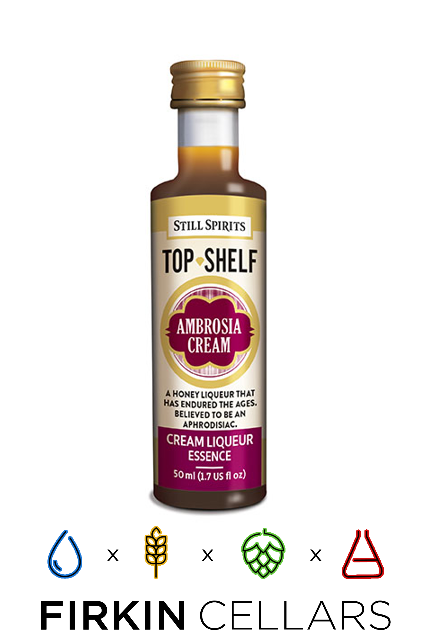 Still Spirits Top Shelf Ambrosia Cream Liqueur Home Brew Flavouring Essence