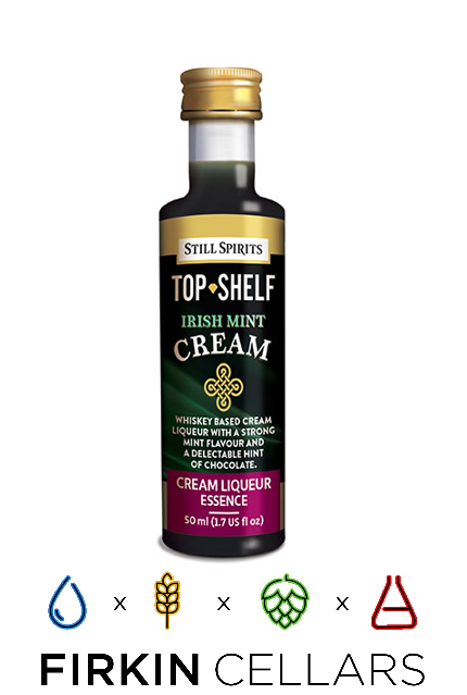 Still Spirits Top Shelf Irish Mint Cream Liqueur Home Brew Flavouring Essence