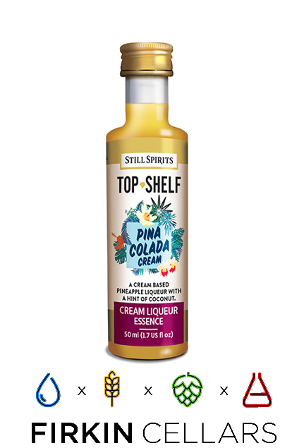 Still Spirits Top Shelf Pina Colada Cream Liqueur Home Brew Flavouring Essence