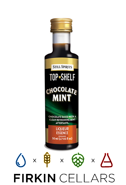 Still Spirits Top Shelf Chocolate Mint Liqueur Home Brew Flavouring Essence