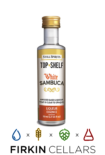 Still Spirits Top Shelf White Sambuca Liqueur Home Brew Flavouring Essence