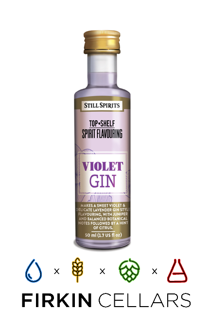 Still Spirits Top Shelf Violet Gin Home Brew Flavouring Essence