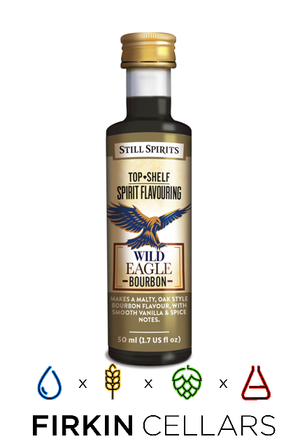 Still Spirits Top Shelf Wild Eagle Bourbon Home Brew Flavouring Essence