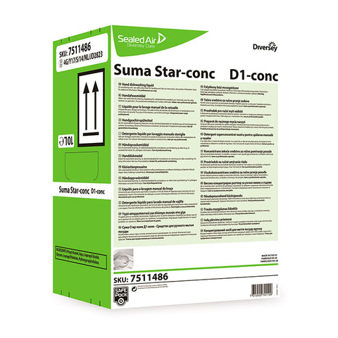Lavavajillas Manual Suma Star D1 10L SafePack