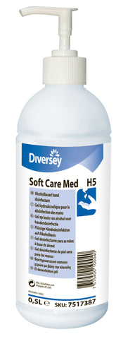 Gel Hidroalcohólico Desinfectante de Manos Soft Care Med H5 0,5L