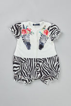 Load image into Gallery viewer, Little Zebra Romper
