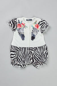 Little Zebra Romper