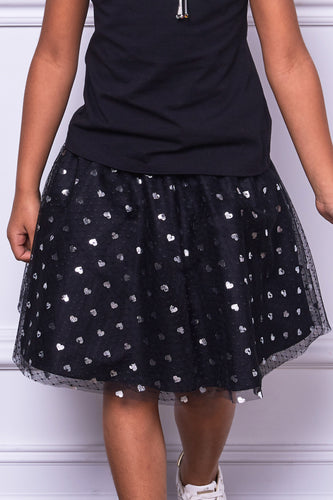 Hearts Puffy Skirt