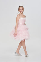 Load image into Gallery viewer, Tulle Top Occasion Dress