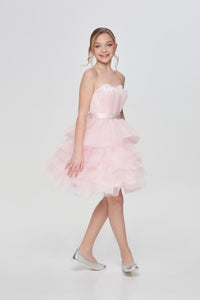 Tulle Top Occasion Dress