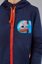 Load image into Gallery viewer, Orange Zip Tracksuit Set