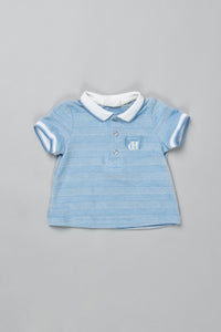 Stripe Polo-Shirt
