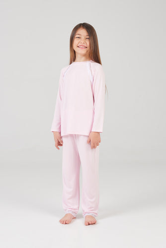 Lace Trim Sleepwear Set