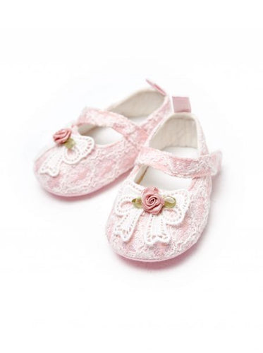 Lace Crib Shoes