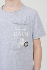 Keep Calm Pocket Top