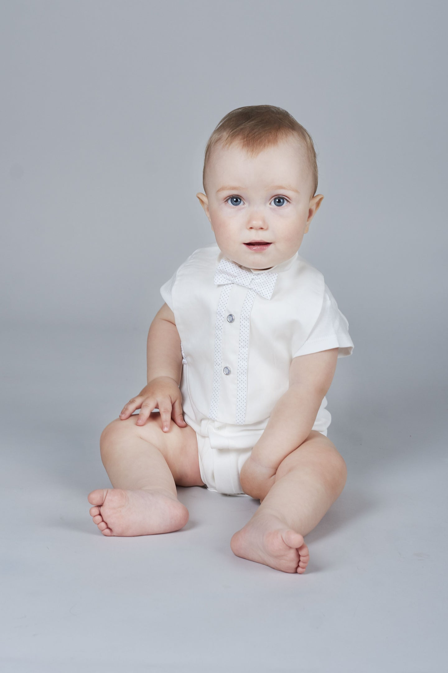 Bow-Tie Attached Bodysuit
