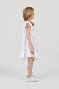 Ruffled Assymetrical Dress