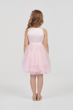 Load image into Gallery viewer, Satin Top Occasion Dress