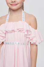 Load image into Gallery viewer, Ruffled High-Low Dress