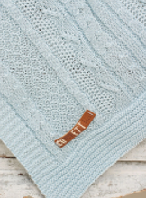 Load image into Gallery viewer, Cable Knit Blanket