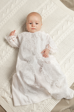 Load image into Gallery viewer, Baptismal and Christening Gown with Bonnet
