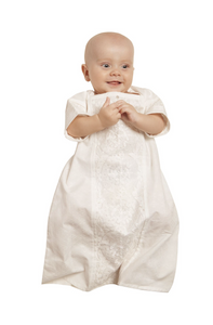 Embroidered Baptismal and Christening Shirt