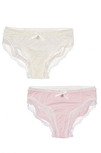 Lace Trim 2-Pack Panties