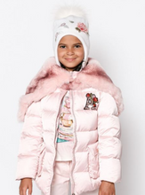Load image into Gallery viewer, Fur Hooded Puffer Jacket