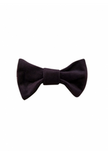 Load image into Gallery viewer, Velvet Bow Tie
