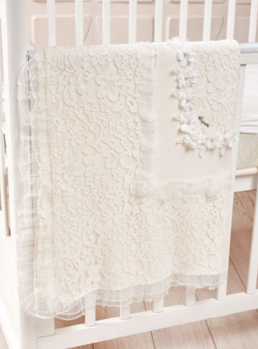 All Over Lace Blanket