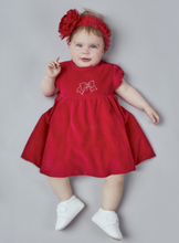 Load image into Gallery viewer, Velour Skater Dress