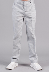 Side Pockets Linen Pants