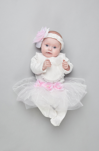 Coverall, Tutu, Headband and Bib Set