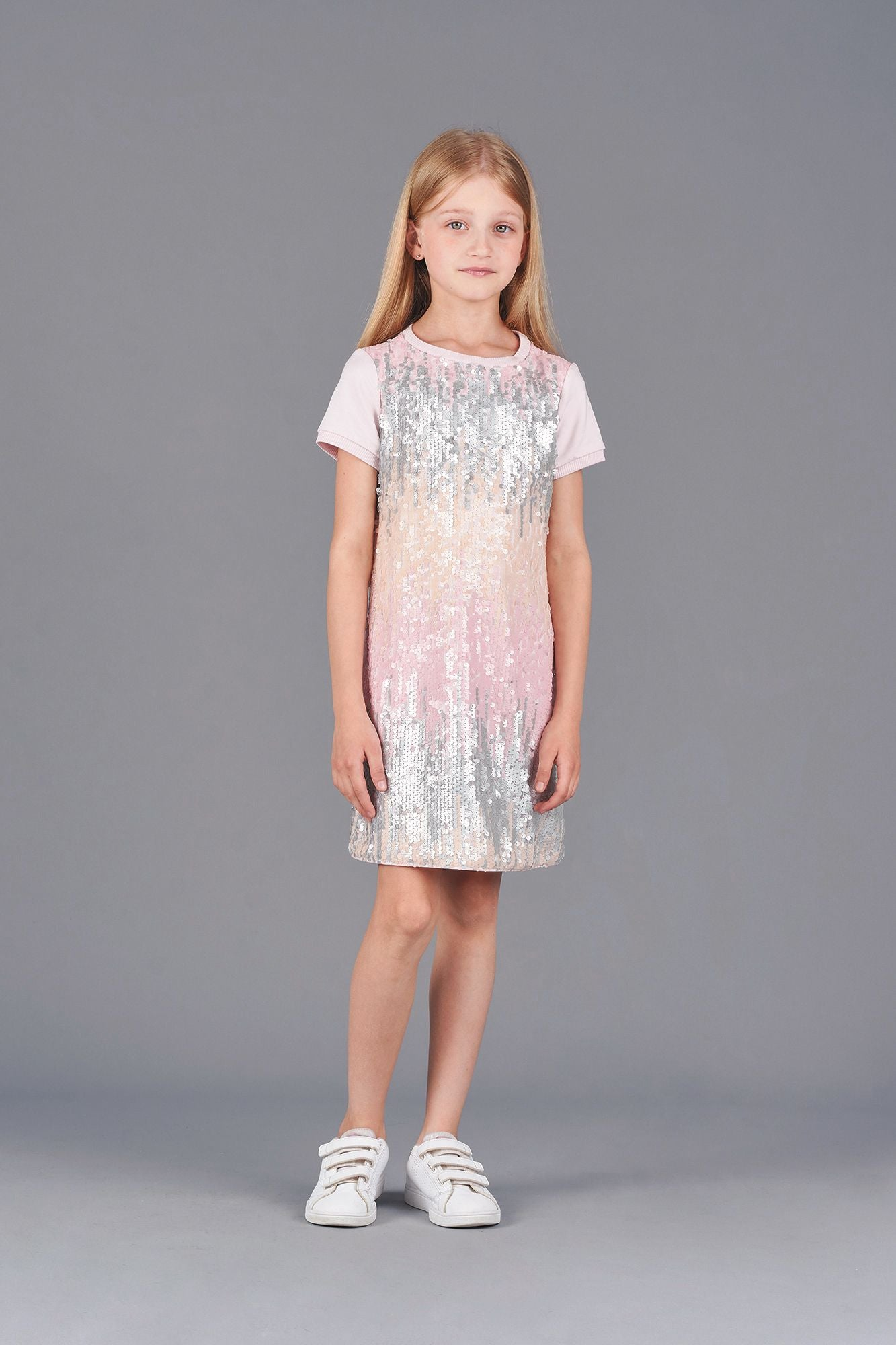 Sequins Ombre Dress