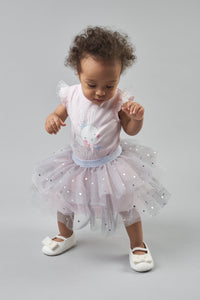 Tulle Doted Tutu-Skirt