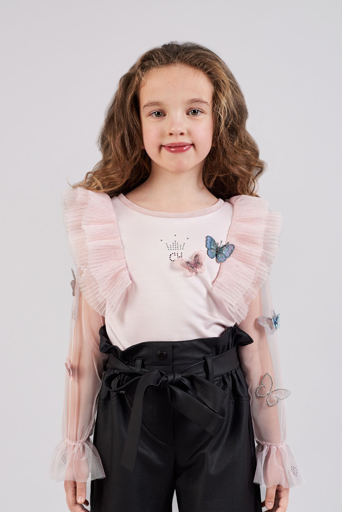 Butterfly Sheer Blouse