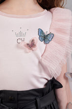 Load image into Gallery viewer, Butterfly Sheer Blouse