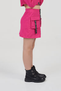 Glam Rock Mini Skirt
