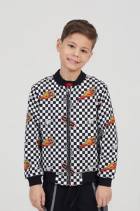 Born To Ride Bomber Jacket