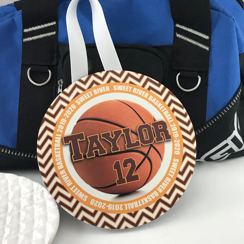 Basketball Locker, Door, Wall Decoration, Personalized, Monogrammed