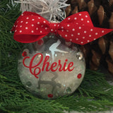Acro Gymnast Acro Gymnastics Ornament, Personalized, Monogrammed, Gifts for Gymnast