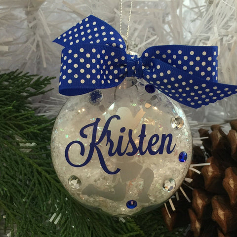 Cheerleader V-Up Ornament, Personalized, Cheerleading Accessories, Cheerleading Decor, Cheerleading Party, Sports Gifts