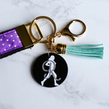 Runner Gift, Track and Field, Accessory, Lanyard, Wrist Lanyard, Wristlet, Key Fob