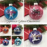 Gymnast bag tag, Stag Leap Glitter Tag, Personalized bag tag, gymnastics gift, gifts for gymnasts, gymnastics meet, coach gift