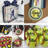 Softball Girl, Softball Gift, Fast Pitch Softball, Personalized, Accessory, Lanyard, Wrist Lanyard, Wristlet,  Key Fob