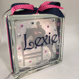 Equestrian Jumper Horse Jumping GemLight, Personalized